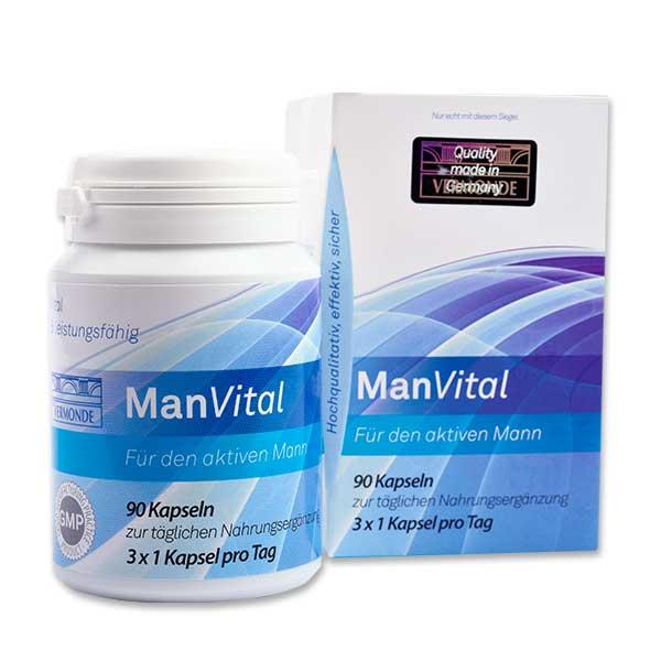 ManVital Verpackung