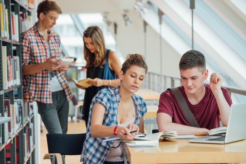 Schüler und Student